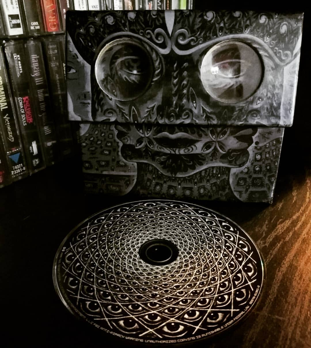 Tool, 10,000 days Front Cover
