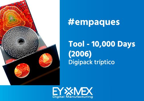Tool 10000 days_digipack triptico