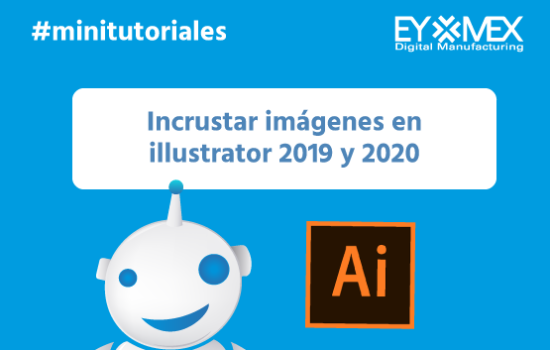 Incrustar imágenes en Ilustrator 2020, dos métodos diferentes.